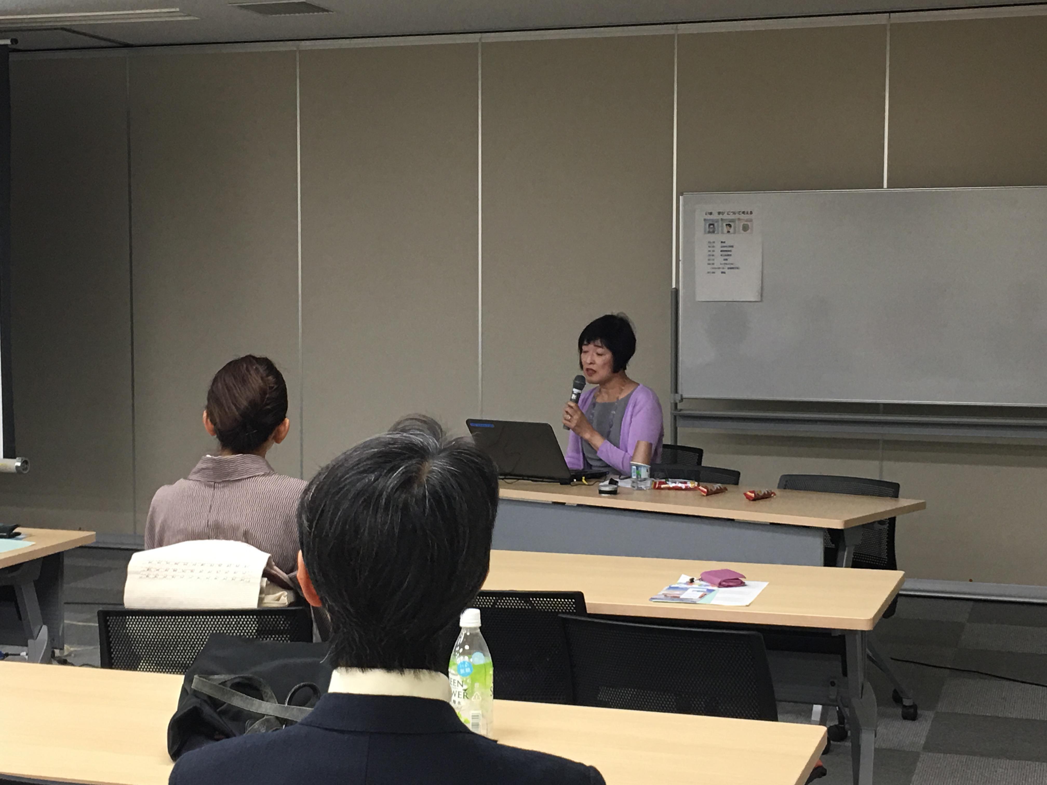 独立系司書・元教員の山本みづほ氏による講演
