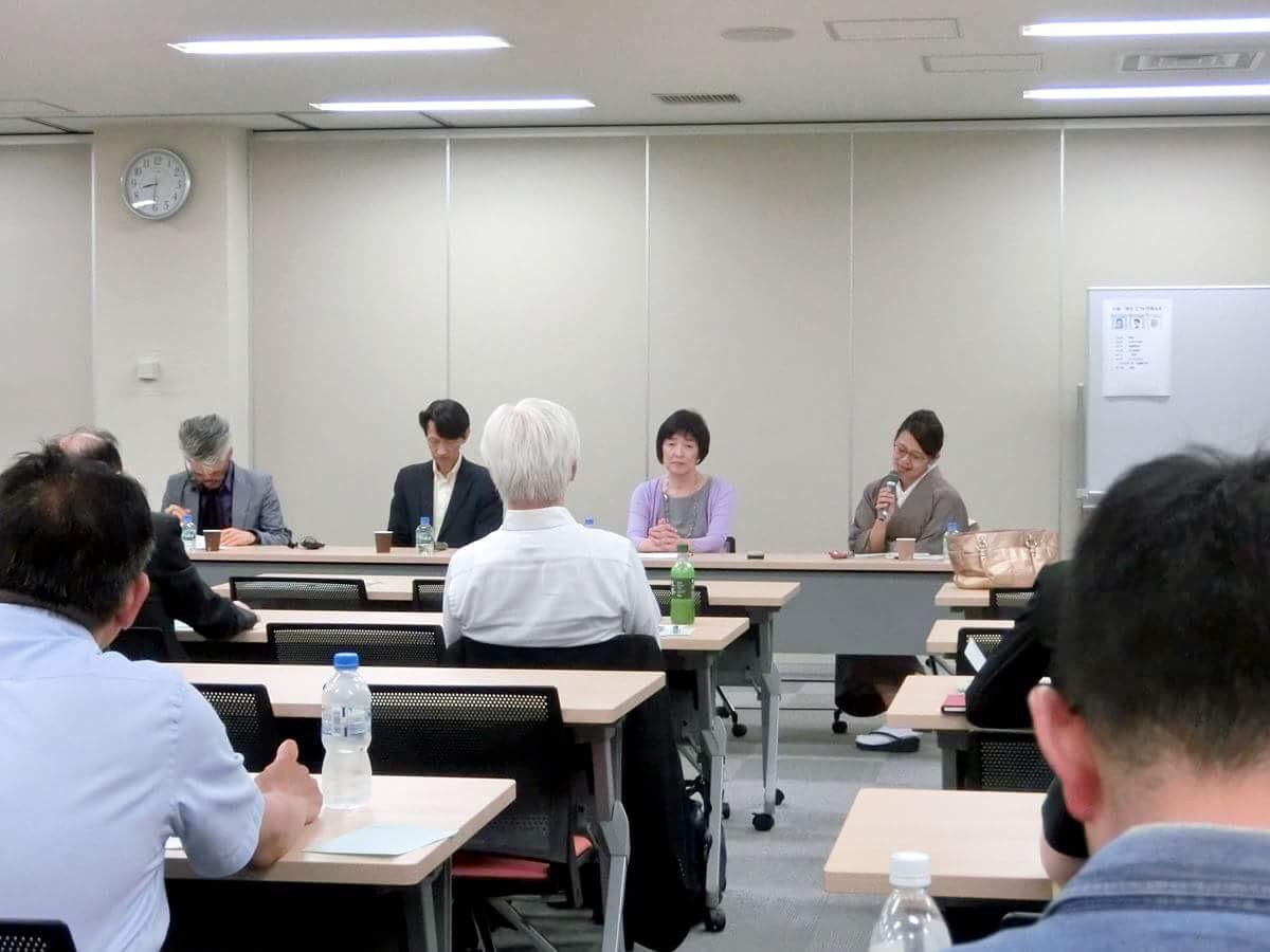 (株)ラピッツワイド・広瀬容子氏をファシリテーターに迎えて参加者とのディスカッション