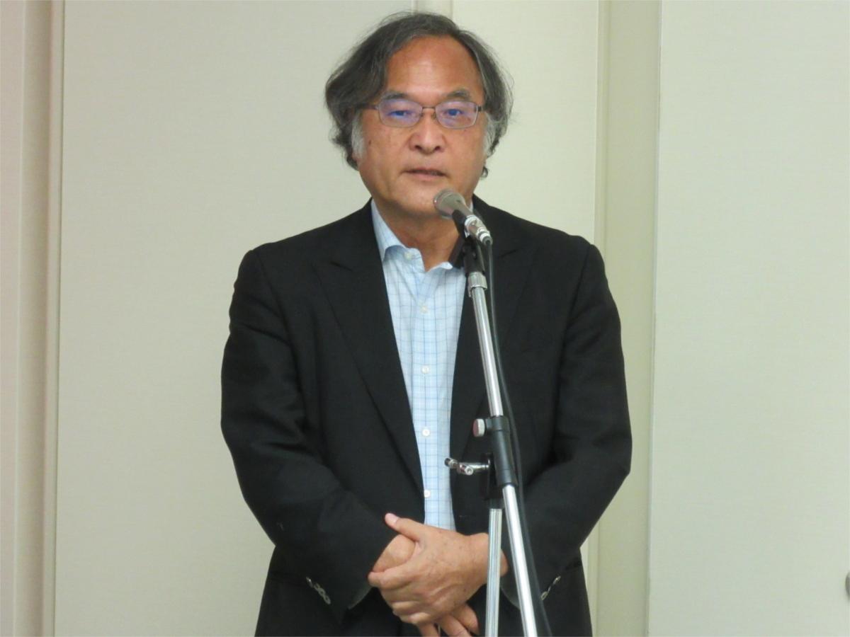 林良造 機械振興協会経済研究所所長 による開催の挨拶